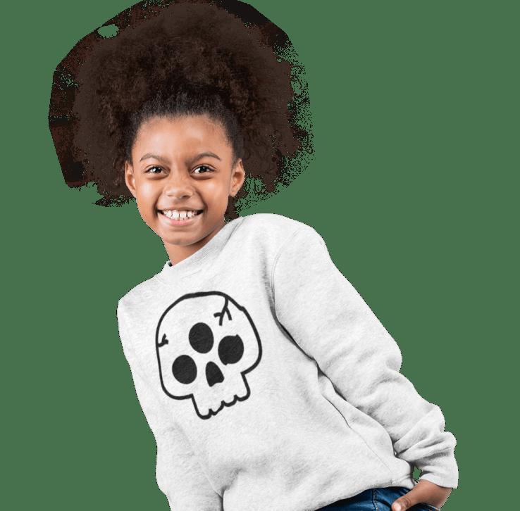 Customized kids' sweatshirt