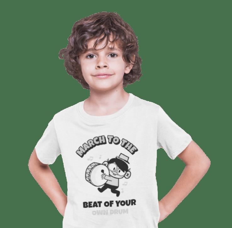 Customized kids' T-shirt