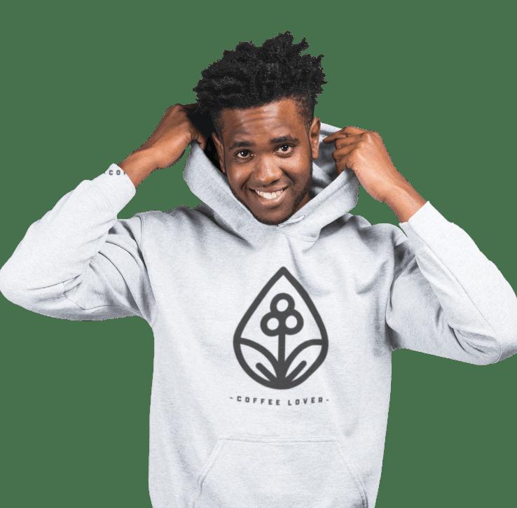 customized men's hoodie