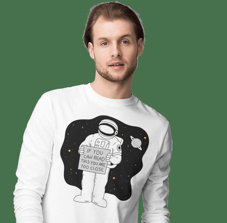customized men's long sleeve shirt