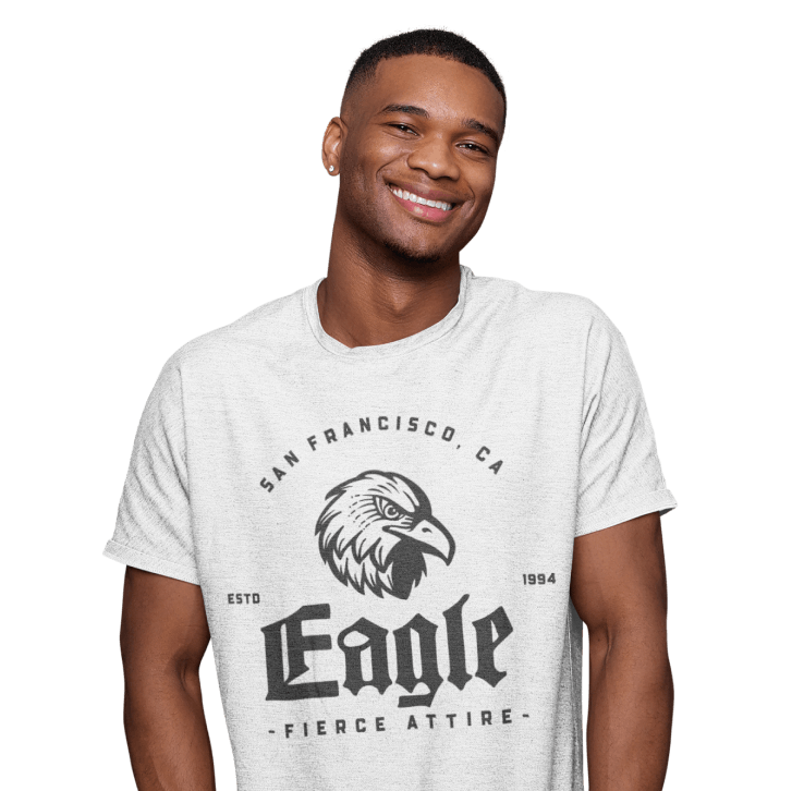 customized men's T-shirt