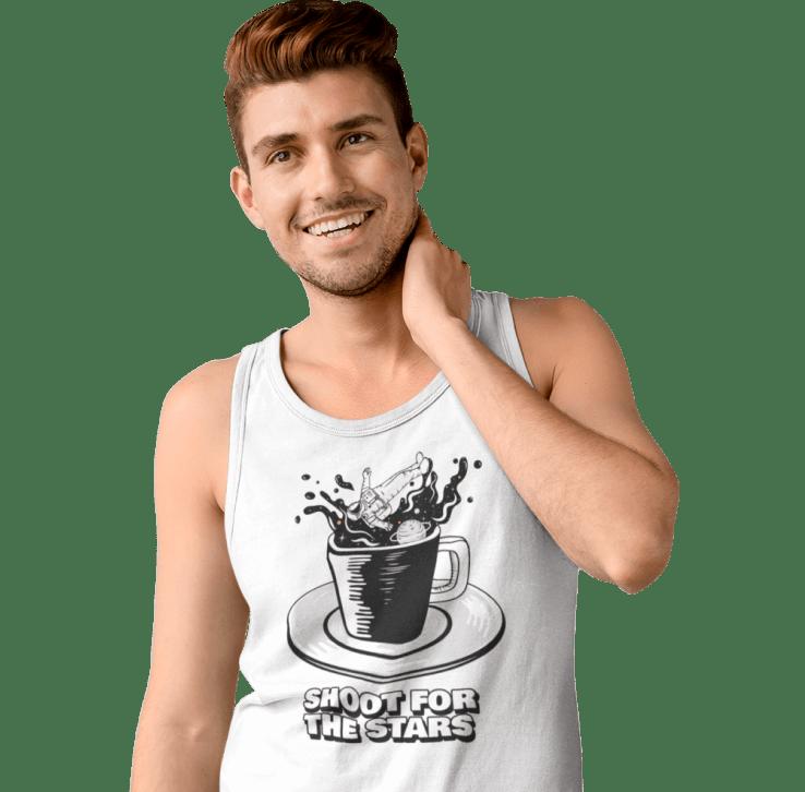customized men's tank top