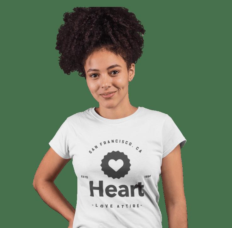 customized women's T-shirt