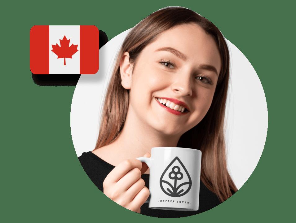 Canadian custom mugs