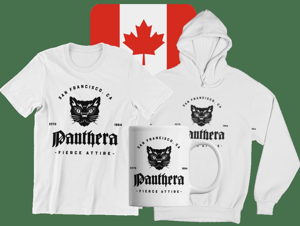 Canadian custom apparel and drinkware