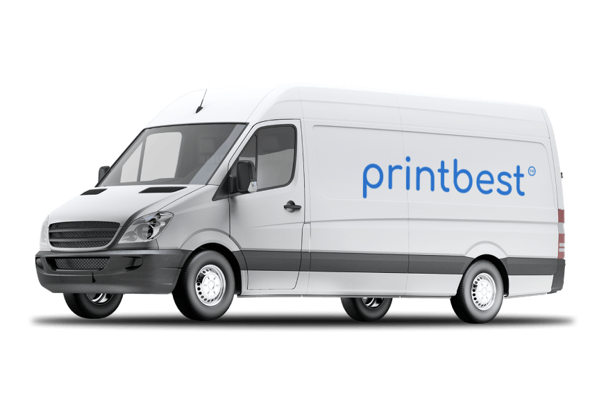 Printbest shipping truck