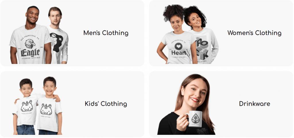 printbest categories