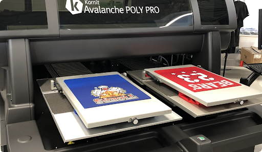 Direct-to-Garment Printing (DTG)